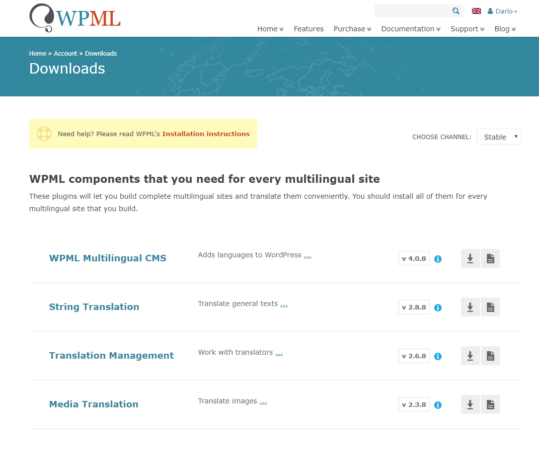 How to Download and Install WPML and Receive Automated