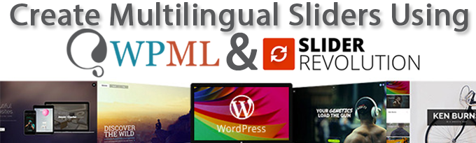 Creating multilingual sliders with Slider Revolution and WPML - WPML