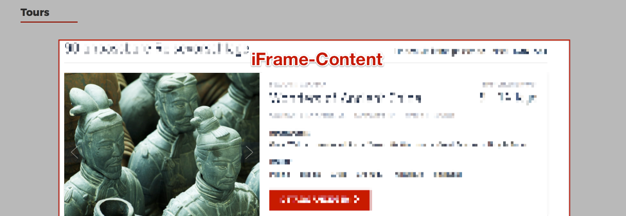 iFrame content not translated with language switcher - WPML
