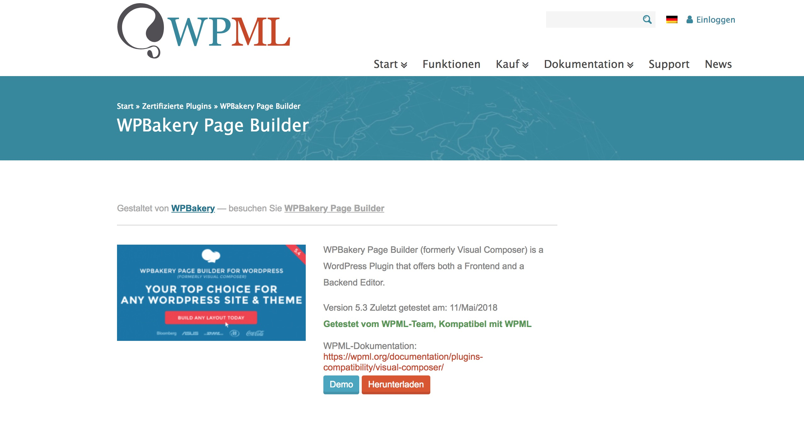Problems with translation of WP-Bakery Page Builder - WPML