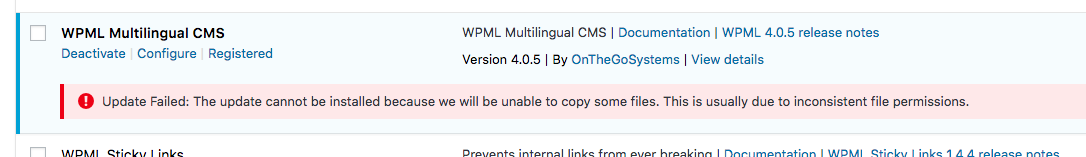 Three persisting issues since upgrading to WPML 4 in June - WPML