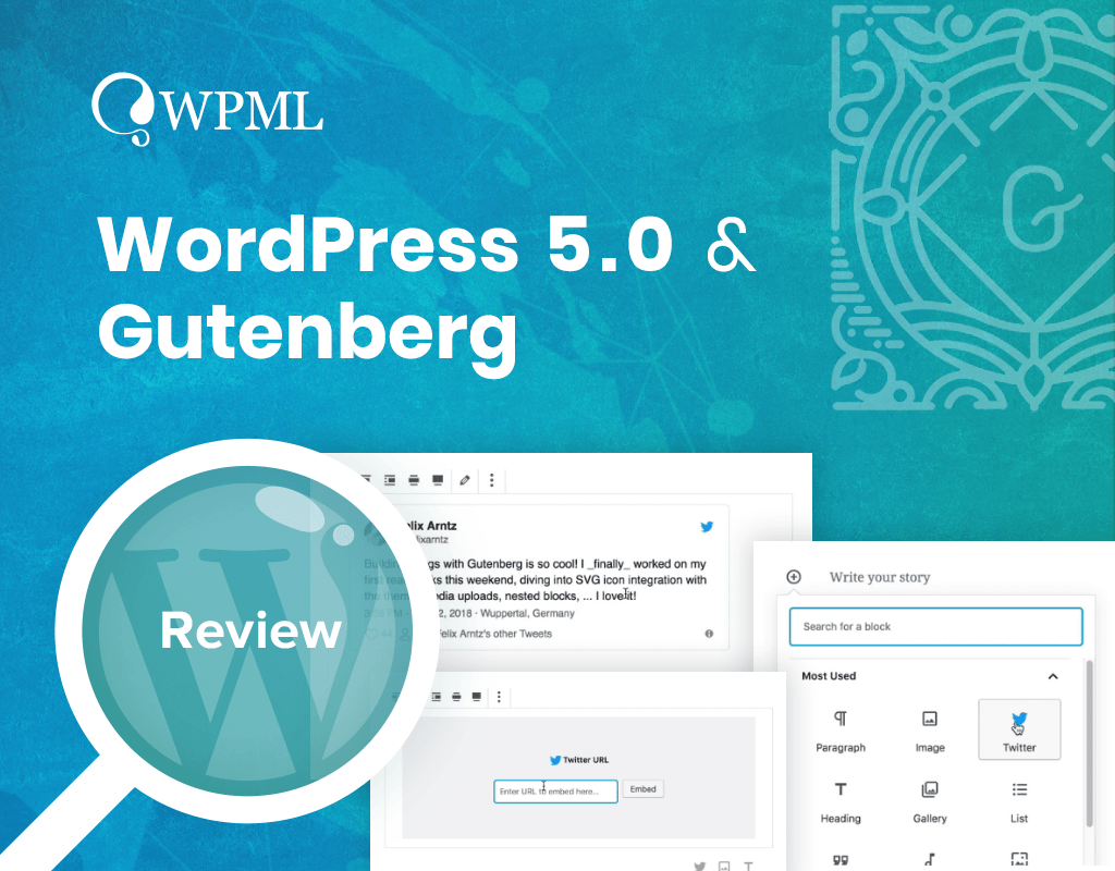 WPML's Plan for WordPress 5 0 and Gutenberg - WPML