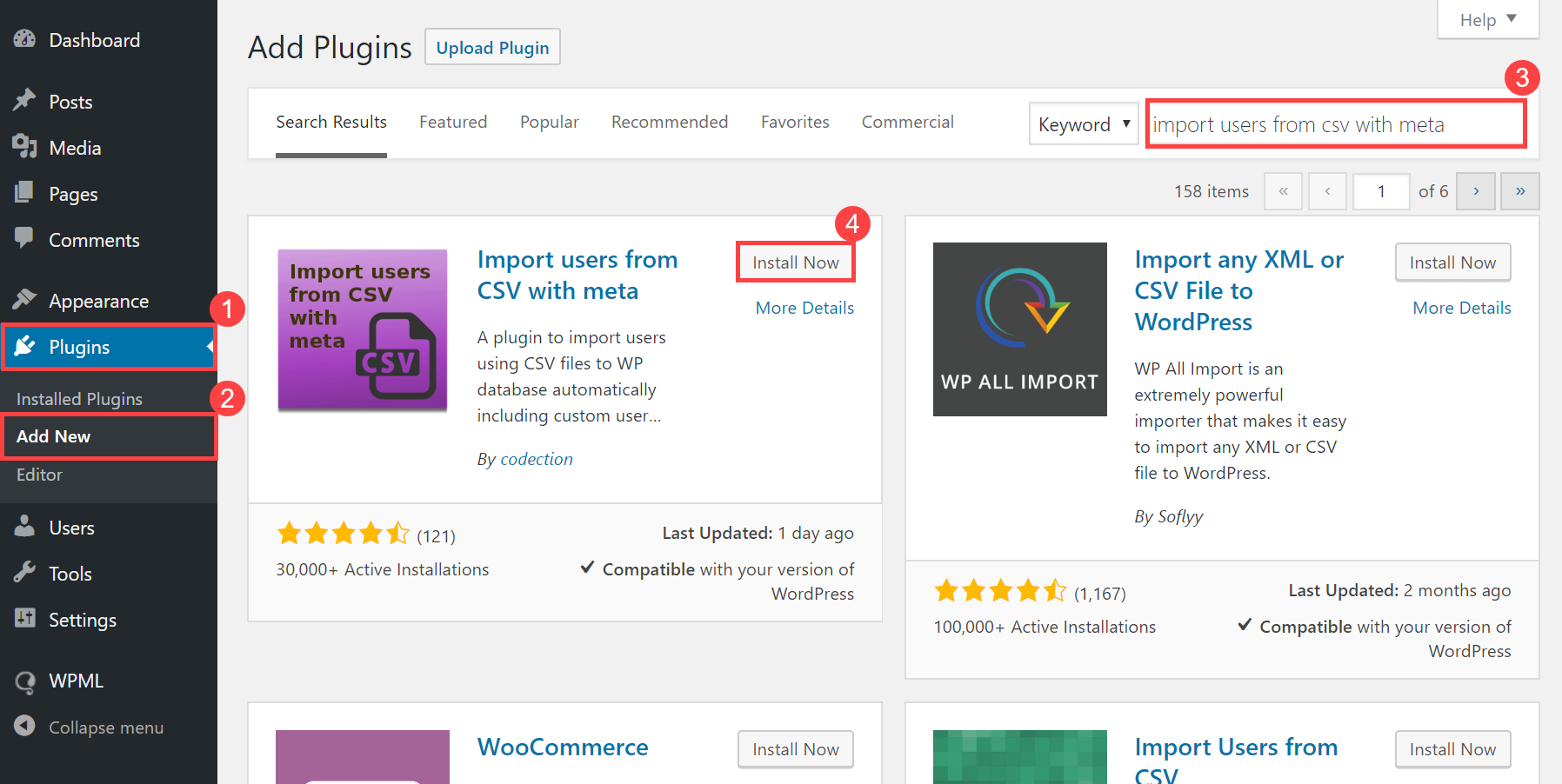 Import users to WPML multilingual sites | Import users from