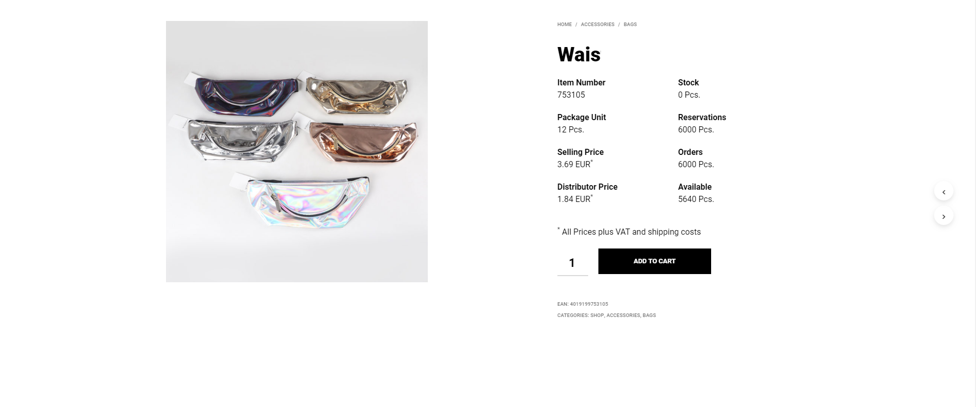 1. Example product  front- Showing custom fields.png